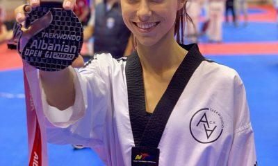 , ΤΑΕΚΒΟΝΤΟ Κυπαρισσίας: Η Διακουμοπούλου 2η στο διεθνές πρωτάθλημα G1 στην Αλβανία