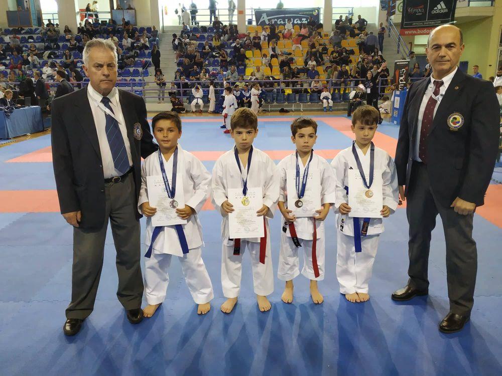 , Άκρως επιτυχημένη η παρουσία του Παμμεσσηνιακού Α.Σ. Καράτε στο Πανελλήνιο Κύπελλο