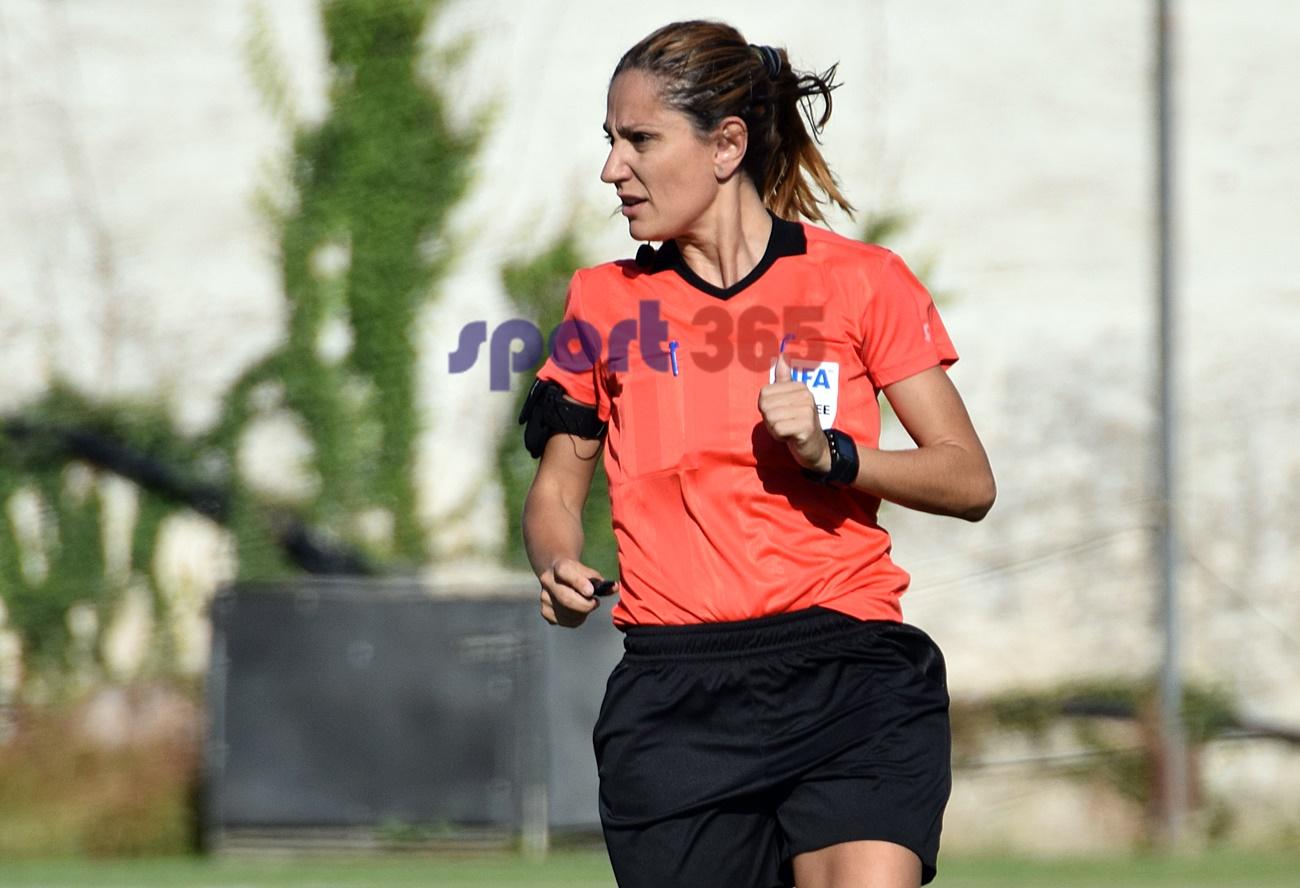 , Διαιτητές football League: Η Ελένη Αντωνίου στο Καλαμάτα- Ιάλυσος
