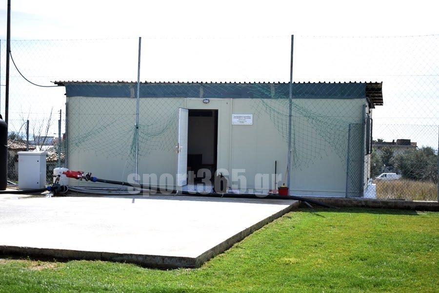 , Έπεσαν οι υπογραφές για αποδυτήρια στα Παλιάμπελα και κερκίδας στο γήπεδο Δυτ. Παραλίας