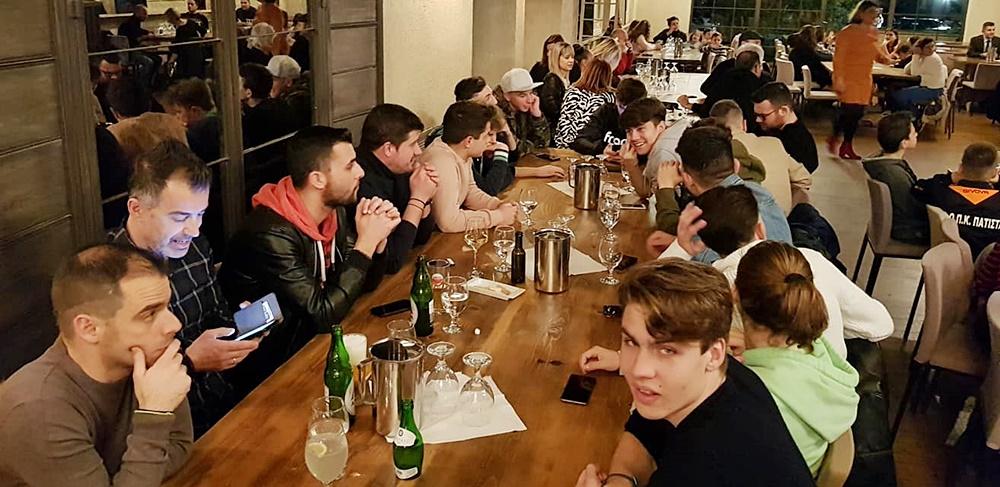 , Έκοψε πίτα η ποδοσφαιρική οικογένεια του Πατίστα