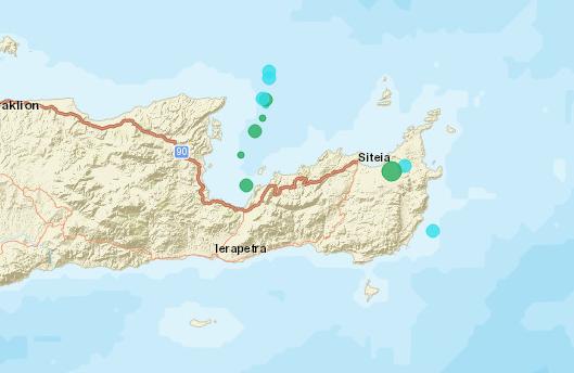 , Ισχυρός σεισμός 4,8 Ρίχτερ στην Κρήτη