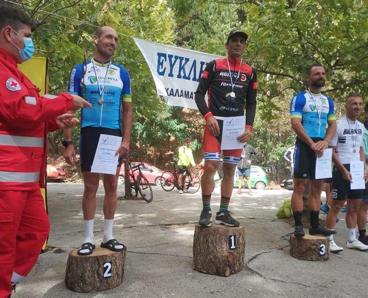 , Ποδηλατικός όμιλος Καλαμάτας: Πρωτιά Δημητρακόπουλου στην 13η Ανάβαση Ταϋγέτου