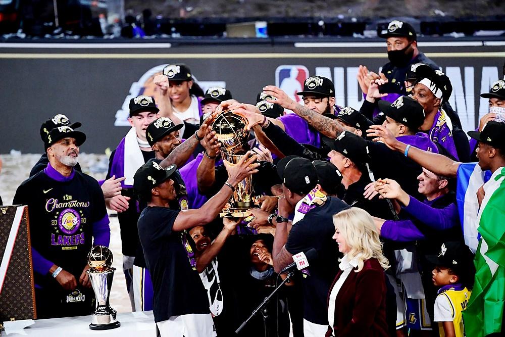 , ΝΒΑ: Πρωταθλητές για το 2020 οι Λέικερς, με MVP Λεμπρόν! (φωτο & βίντεο)