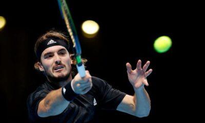 ", ATP Finals: Νίκη – θρίλερ ο Τσιτσιπάς με Ρούμπλεφ και ""τελικός"" πρόκρισης με Ναδάλ"