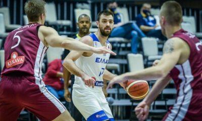 , Ελλάδα – Λετονία 66-77: Κακή η Εθνική γνώρισε την πρώτη της ήττα στα προκριματικά του Ευρωμπάκετ
