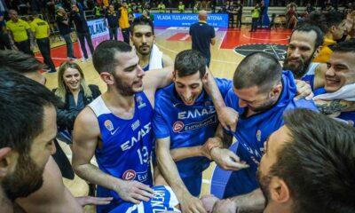 , Εθνική μπάσκετ: Η 12αδα για τον αγώνα με τη Βοσνία