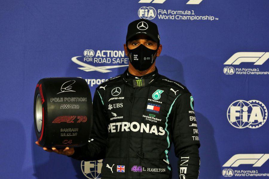 , Συνεχίζει απτόητος ο Χάμιλτον: Pole position και στο Μπαχρέιν!