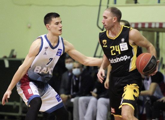 , Basket League: Με επιθετική πολυφωνία η ΑΕΚ νίκησε το Μεσολόγγι και συνεχίζει αήττητη