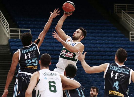, Basket league: Αήττητος εντός συνόρων ο Παναθηναϊκός, 90-67 του Κολοσσό (βαθμ.)