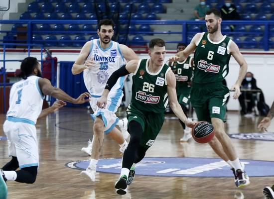 , Basket League: Πέρασαν από την Νίκαια και συνεχίζουν αήττητοι οι «πράσινοι» (βαθμολογία)
