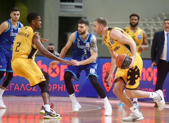 , Basket League: Επιστροφή στα θετικά αποτελέσματα με δύσκολη νίκη για την ΑΕΚ (αποτ.-βαθμ.)