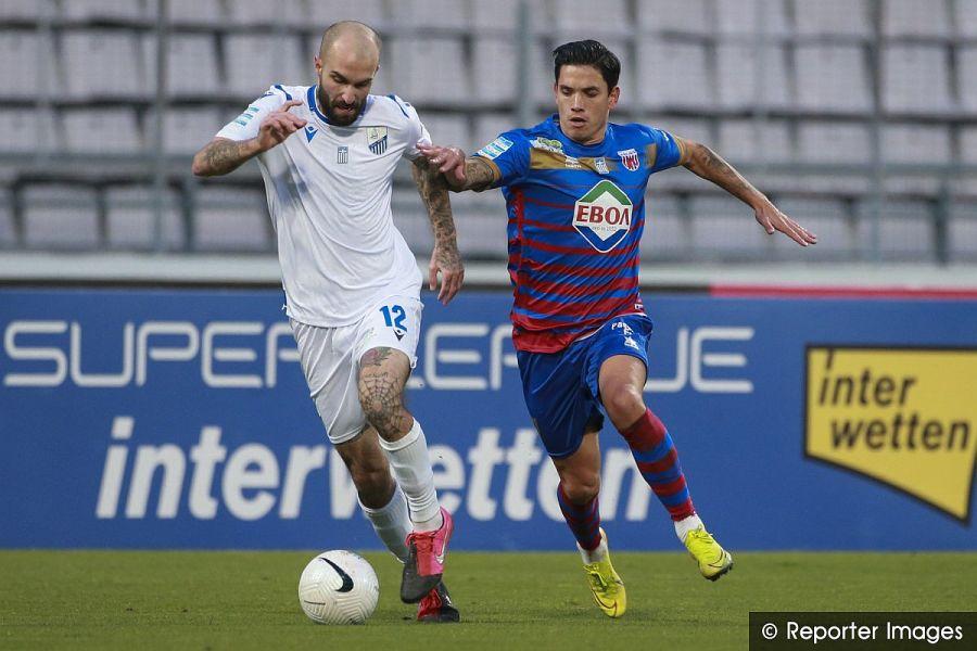 , Super League: Ασύμφορη ισοπαλία για Βόλο και Λαμία (1-1)
