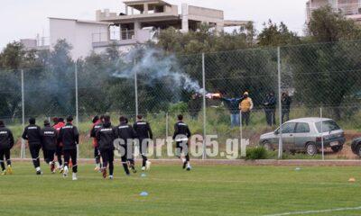 , Καλαμάτα: Πάτησαν και πάλι γήπεδο μετά από 100 μέρες οι μελανόλευκοι! (φωτο)