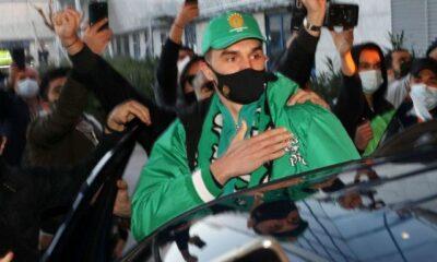 """, Παναθηναϊκός: Αποθέωση Χεζόνια στην άφιξή του στο """"Ελ. Βενιζέλος"""""""