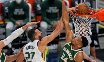 ", NBA: ""Διπλός""… αλλά μόνος ο Αντετοκούμπο- Ήττα των Μπακς 129-115 στη Γιούτα (βίντεο)"