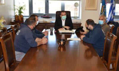 , Συνάντηση εκπροσώπων της ΛΕΜΟΚΑ με τον Δήμαρχο