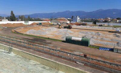 """, Μεσσήνη: H ανακατασκευή του σταδίου """"απογειώνει"""" τον στίβο"""