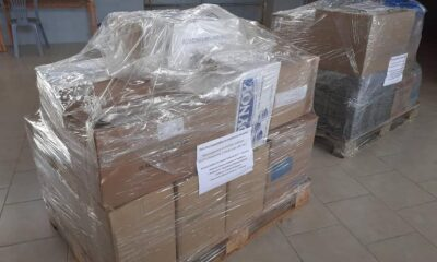 , Χανδριναϊκός: Συγκεντρώθηκαν τρόφιμα και είδη για τους σεισμοπαθείς της Θεσσαλίας