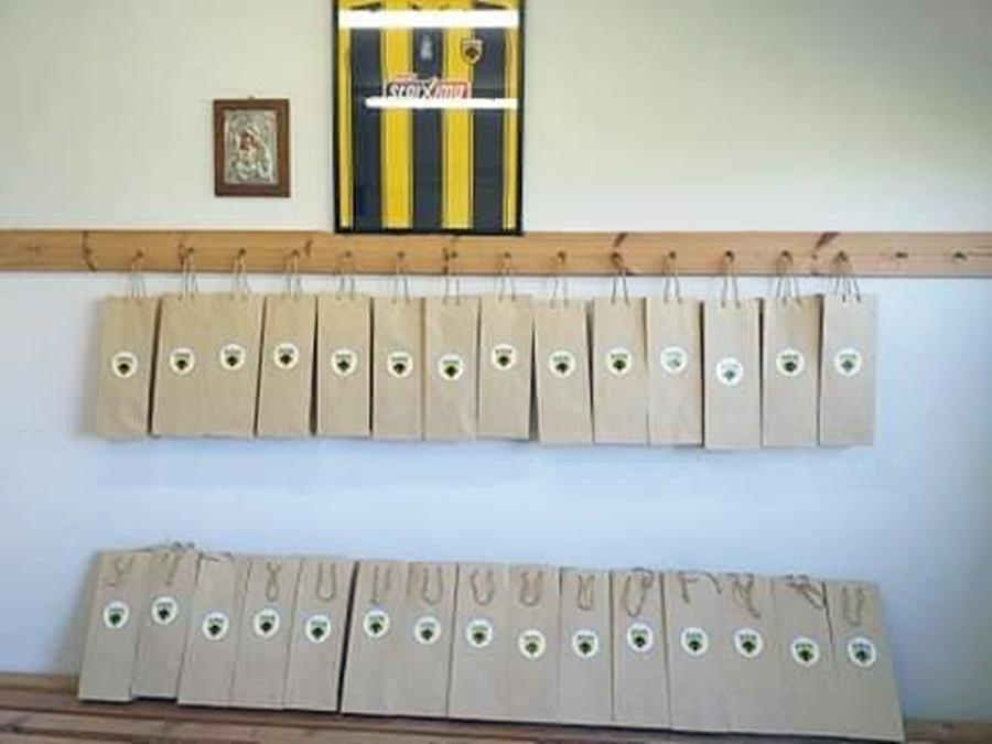 , ΑΕΚ Καλαμάτας: Ευχές και πασχαλινά δώρα