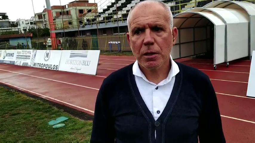 , Νίκος Αναστόπουλος: Πιστεύαμε μέχρι το τελευταίο λεπτό ότι θα πάρουμε τη νίκη (video)