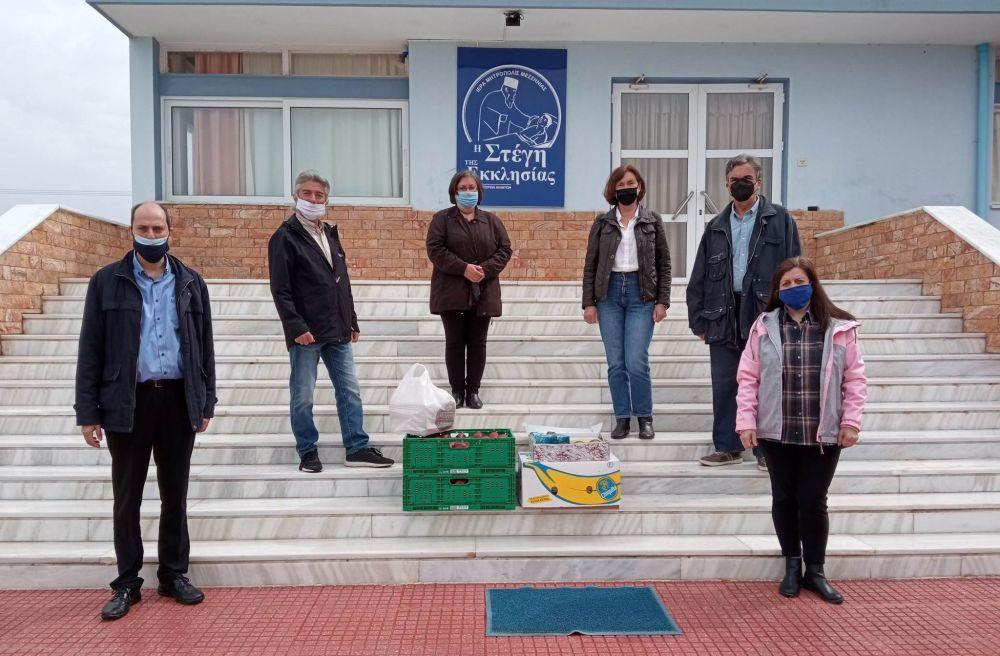 , Ευκλής Καλαμάτας: Προσφορά στο Ίδρυμα Απόρων Ανιάτων στη μνήμη του Παναγιώτη Κουτρούλη