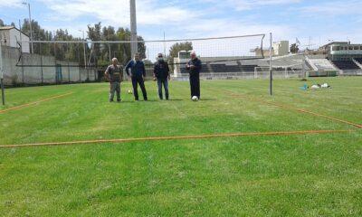 , Μεσσηνιακός: Γήπεδο Grass Volley και πρόσκληση σε Τριανταφυλλίδη (φωτο)