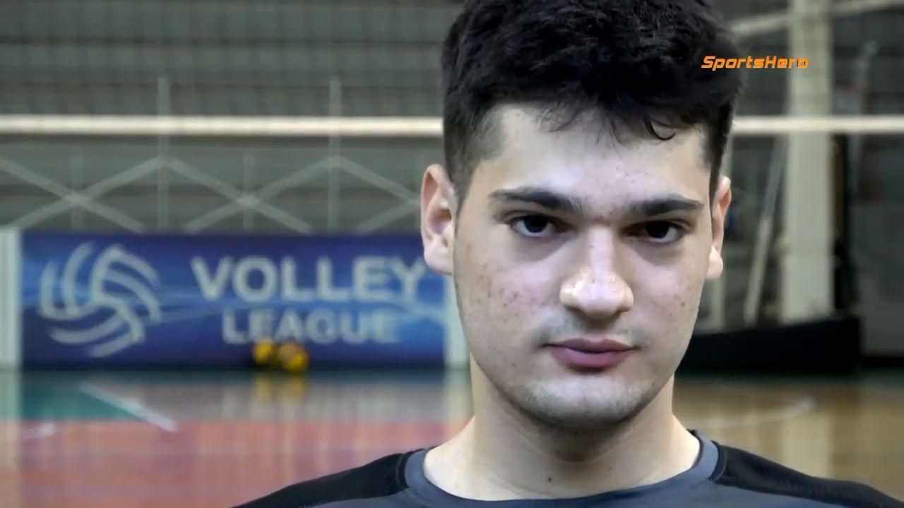 , Σπύρος Χανδρινός: H αποκάλυψη της φετινής Volleyleague (video)