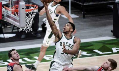 , NBA: Οι 34 πόντοι του Giannis δεν ήταν αρκετοί για τους Μπακς-Ήττα απο τους Νετς 115-107
