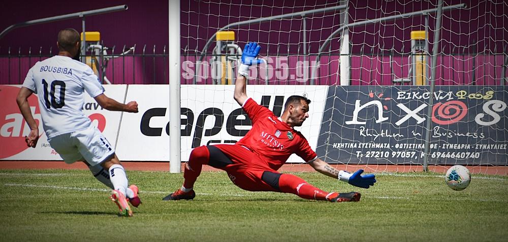 """, Καλαμάτα-Ρόδος 1-0: """"Πάτησε"""" τα ελάφια και πήρε νίκη τίτλου με Μπουσμπίμπα! (φωτο)"""