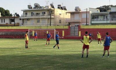 , Ιάλυσος: Πάσχα στο γήπεδο ενόψει Καλαμάτας