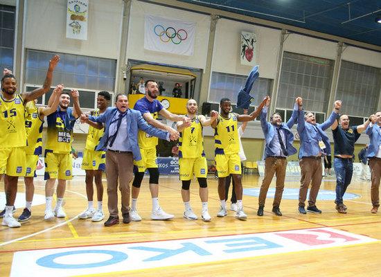, Ιστορική πρόκριση του Λαυρίου στους τελικούς της Basket League
