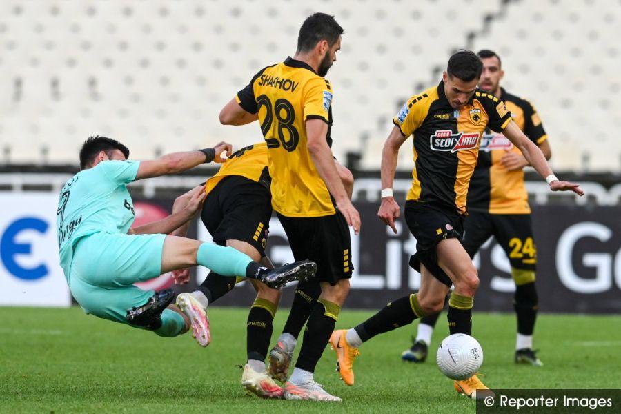 , ΑΕΚ – Άρης 0-0: Στην 3η θέση οι «κίτρινοι» μετά από 40 χρόνια