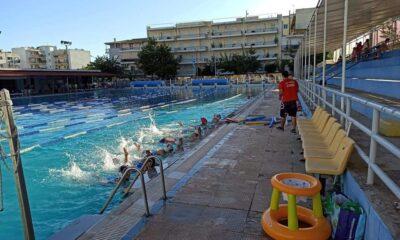 """, Άργης Καλαμάτας: """"Μάθε να κολυμπάς παίζοντας με την μπάλα"""""""