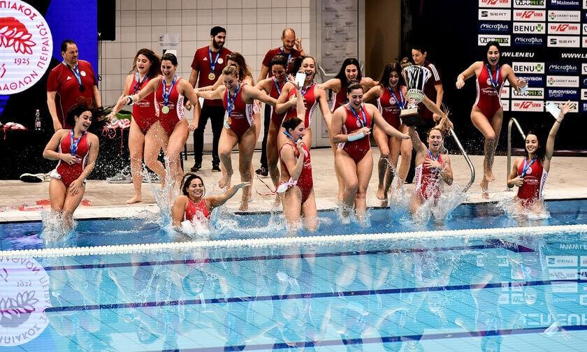 , Σήκωσαν το Ευρωπαϊκό τα κορίτσια του Ολυμπιακού! (φωτο & βίντεο)