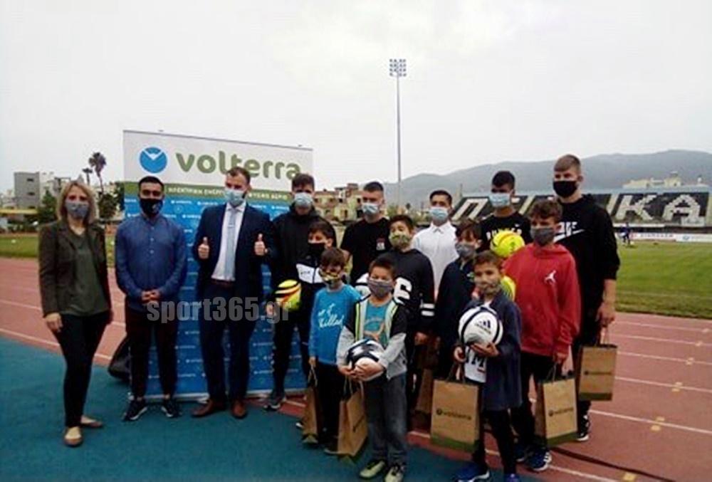 , Volterra και Μαύρη Θύελλα έδωσαν χαρά στα παιδιά της Κιβωτού του Κόσμου