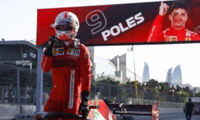 ", Formula 1: Δεύτερη σερί ""pole"" ο Λεκλέρκ"