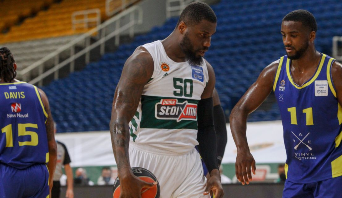 ", Basket League: ""Αγγίζει"" το πρωτάθλημα ο Παναθηναϊκός, έκανε το 2-1 με Λαύριο (103-74)"