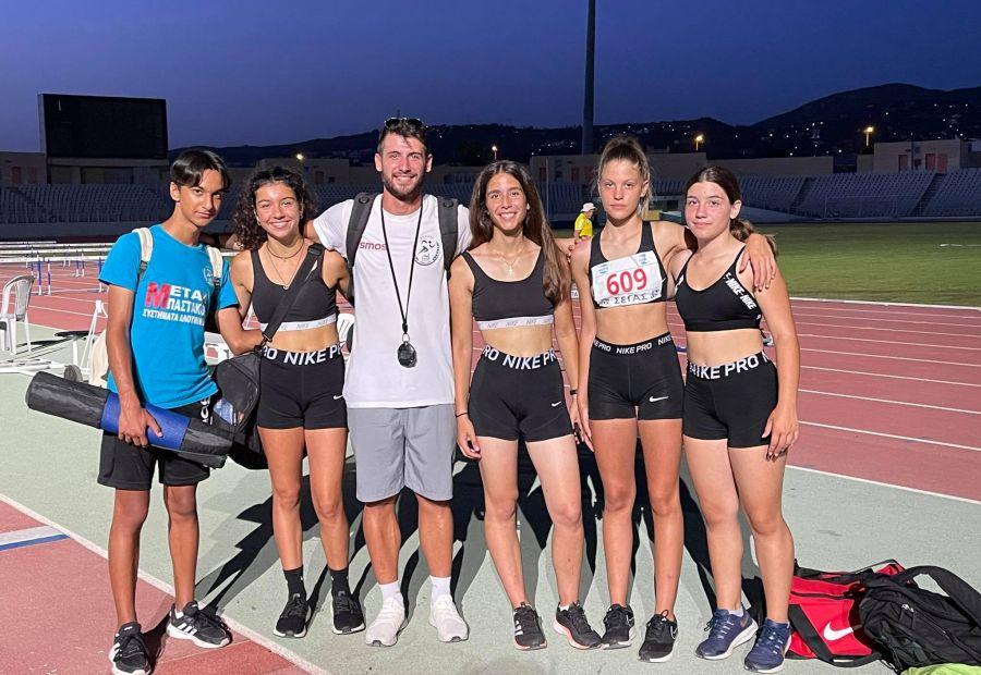 , Στίβος: Διακρίσεις των αθλητών του Ακρίτα στο Πανελλήνιο Κ16 στην Πάτρα