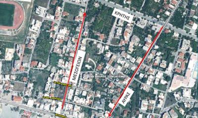 , Αύριο Πέμπτη 8 Ιουλίου 2021 η έναρξη του μέτρου μονοδρόμησης των οδών Αύρας και Μεσογείων