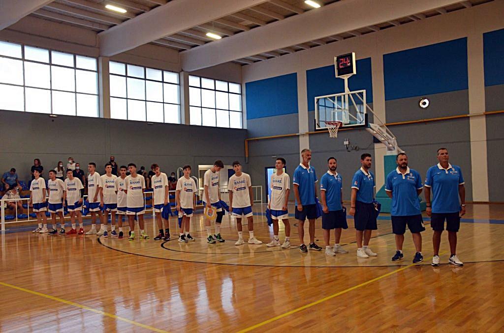 , 1ο Κύπελλο Μεσσήνης: Η Εθνική Κ15 σαρωτική και με Κροατία (101-71)