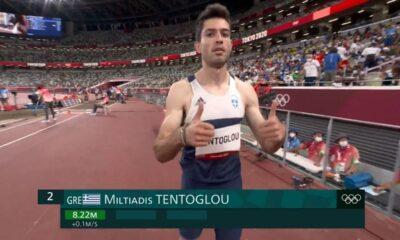 , Στίβος: Με την πρώτη προσπάθεια στον τελικό του μήκους ο Τεντόγλου (βίντεο)