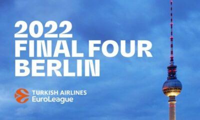 , Στο Βερολίνο το Final Four της Euroleague το 2022