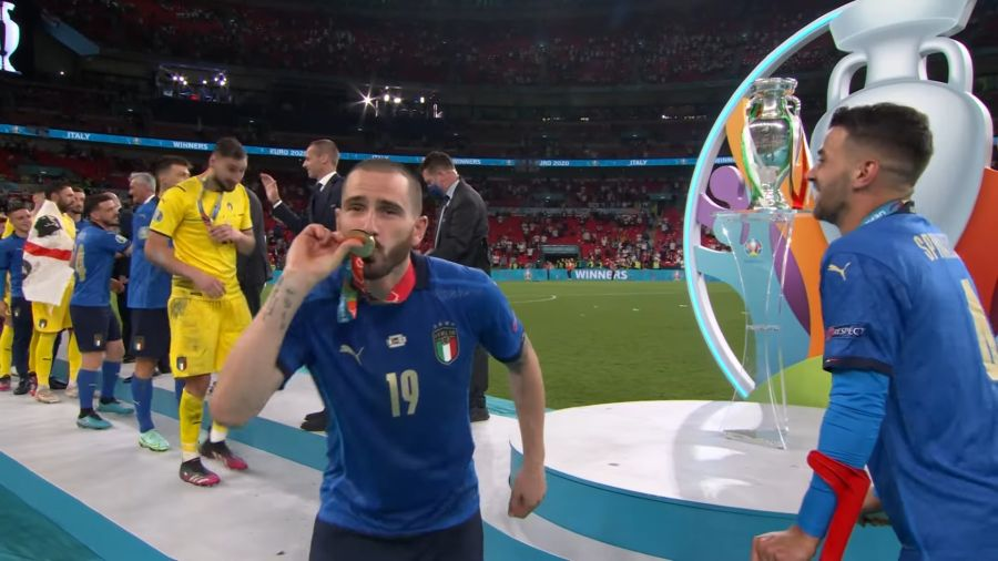 , Η απονομή του τροπαίου στην Πρωταθλήτρια Ευρώπης Ιταλία (video)