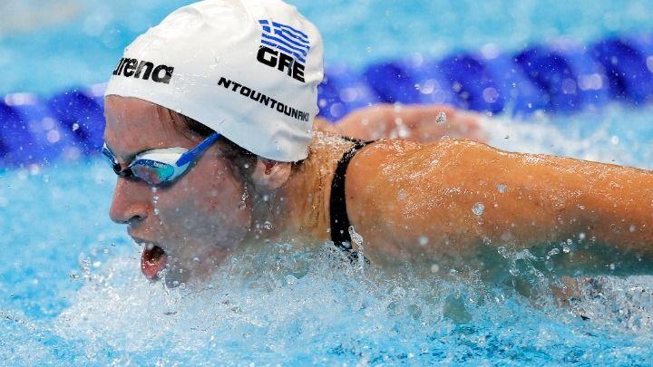 , Ολυμπιακοί Αγώνες 2020: Πανελλήνιο ρεκόρ η Ντουντουνάκη, οριακά εκτός τελικού στα 100μ. πεταλούδα