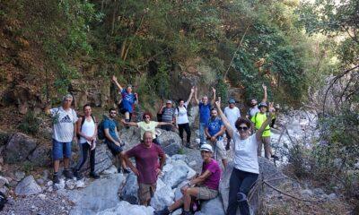 , Ευκλής Καλαμάτας: Περπάτησε το φαράγγι Τέπενης στη Μάνη