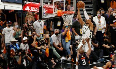 , Τελικοί NBA: Μπρέικ στο Φίνιξ και μία νίκη μακριά από τον τίτλο οι Μπακς (video)
