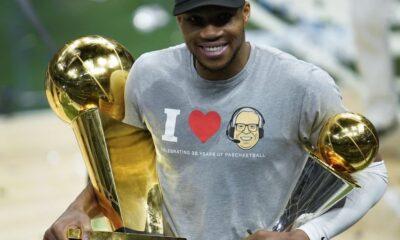 , NBA: Σε τρελά κέφια ο Γιάννης Αντετοκούνμπο, τραγουδάει… Χαρά Βέρρα
