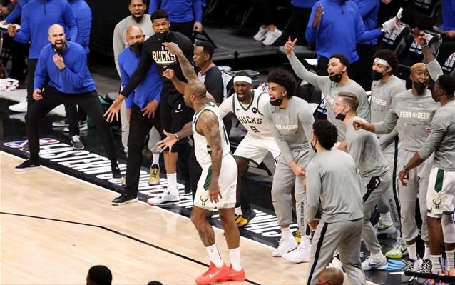 , NBA: Στον τελικό του NBA μετά από 46 χρόνια οι Μπακς του Αντετοκούνμπο (video)