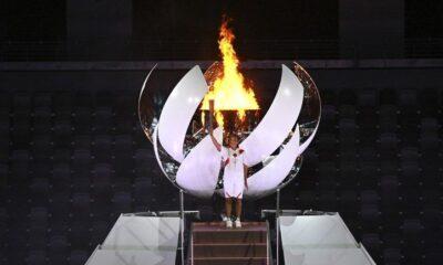 , Ολυμπιακοί Αγώνες 2020: Η Ναόμι Οσάκα τελευταία λαμπαδηδρόμος